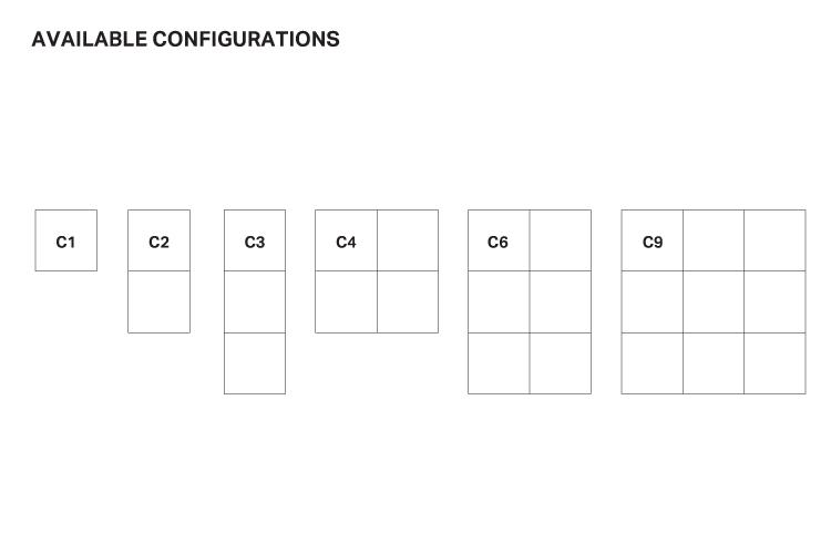 Aureled Configuration layout