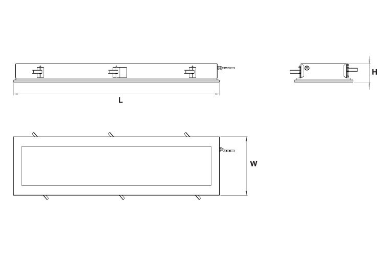 Cleanroom IP65 Dimensions v1 300421