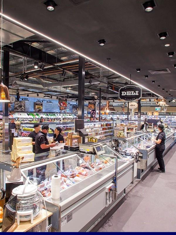 Tile application retail