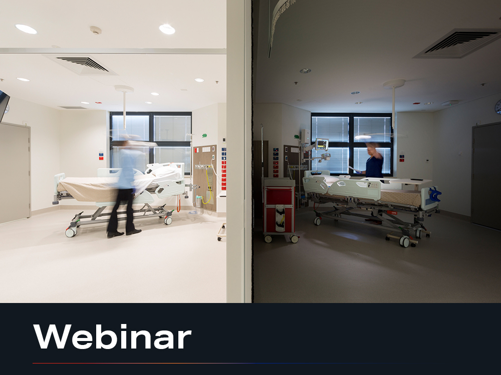 News thumb webcast Importance of lighting healthcare environments